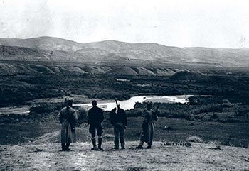 Watchmen at the Beith Shean Valley (1938)