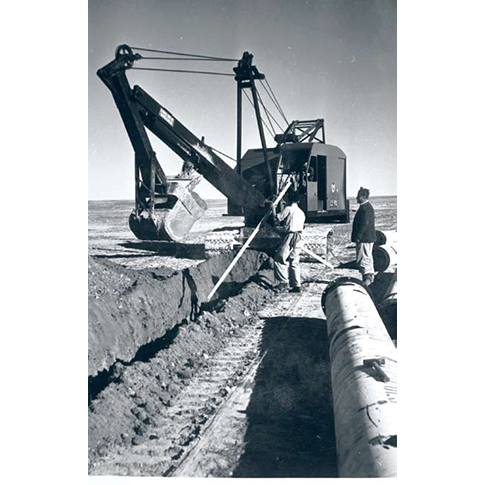 The solution for the arid Negev land (1950)