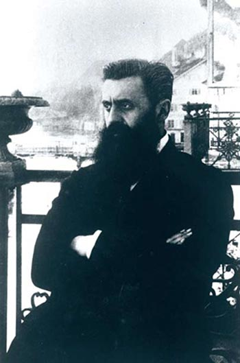 Theodore Herzl, leader of political Zionism (1901)