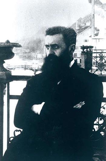 Theodore Herzl, leader of political Zionism (1901)