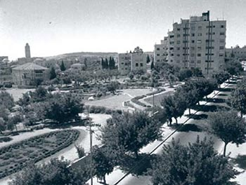 View of King George Street, Jerusalem (1945)