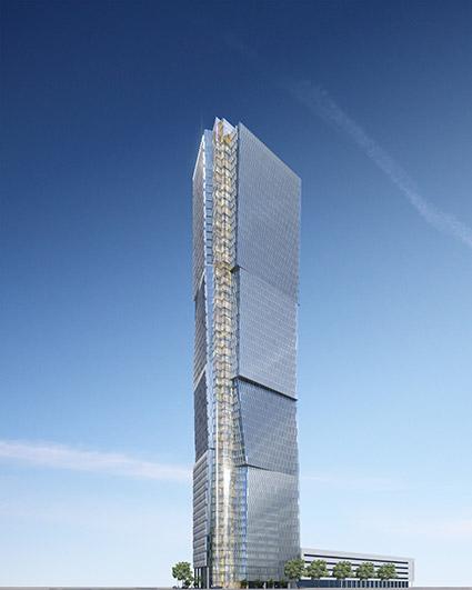 Tel Aviv - Jackob Nimrodi Tower (Ma´ariv House)