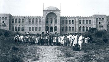 The Technion building in Haifa, 1930´s