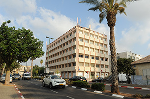 Tel aviv - Nahalat Itzhak building
