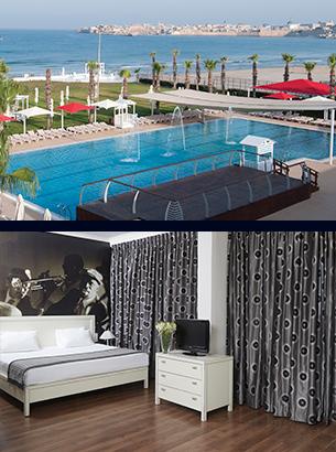 מלון רימונים חוף התמרים עכו