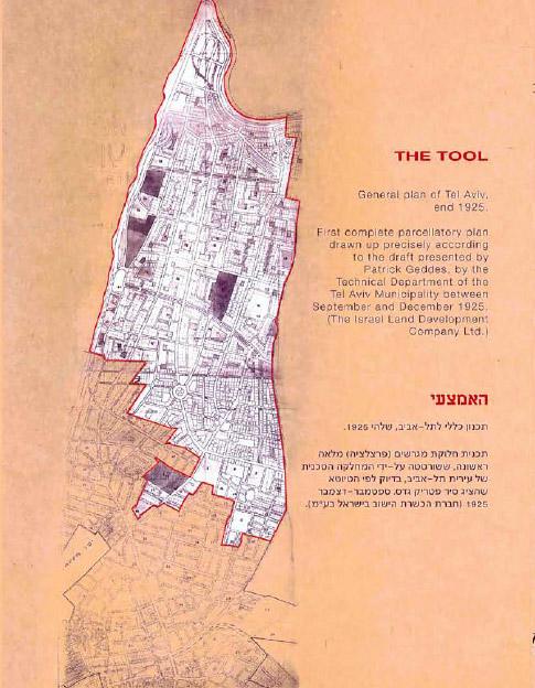 תל אביב - משכונה לעיר (1925) - האמצעי