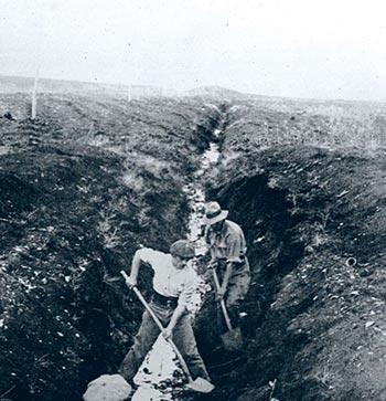 עבודות ייבוש בעמק זבולון (1925)